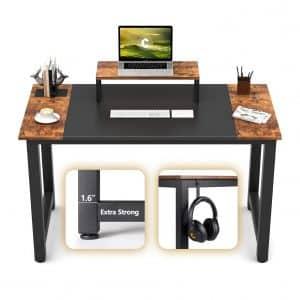 CubiCubi Computer Office Small Desk 47 Inches Long Desk