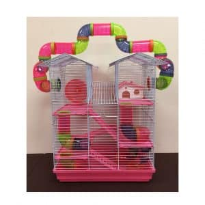 MCage 5 Floor Large Twin Tower Syrian Hamster
