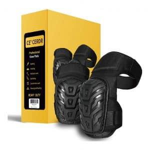 CE' CERDR Foam Padding Gel Cushion Knee Pads