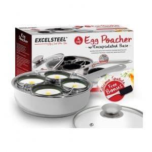 ExcelSteel 521 Nonstick Egg Poacher