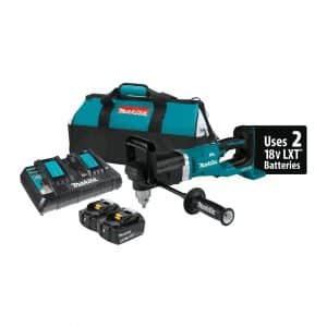 "MAKITA XADO3PT 18VX2LXT Lithium-Ion(36V) Brushless Cordless ½"" Right Angle Drill Kit"