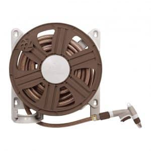 AMES 2388340 ReelEasy Side Mount Garden Hose Reel