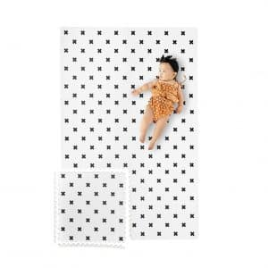 Yay Mats Stylish 6 ft. x 4 ft. Extra Large Non-Toxic Baby Play Mat