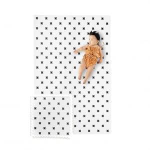 Yay Mats Stylish 6 ft. x 4 ft. Extra Large Non-Toxic Baby Play Mat
