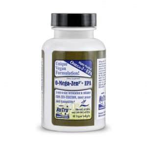 NuTru Vegan Omega 3 DHA Supplements Vegetarian Algae Oil