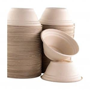 Restaurant Grade 8 Oz Disposable Bowls