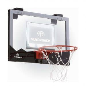 "Silverback 23"" LED Light-Up Mini Basketball Hoop"