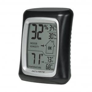 AcuRite 00325 Indoor Thermometer & Hygrometer