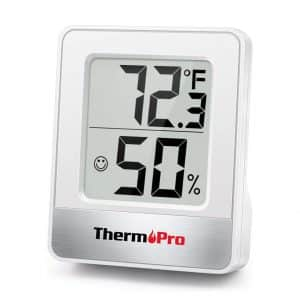 ThermoPro TP49 2 Pieces Digital Hygrometer