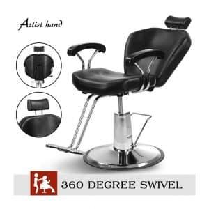 Artist Hand Barber Chair