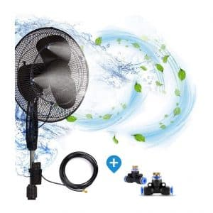H & G Lifestyles Outdoor Fan Misting System