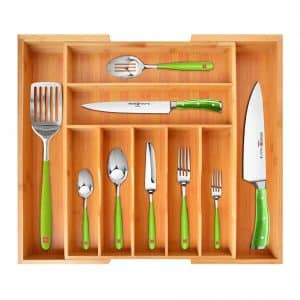 Royal Craft Wood Bamboo Kitchen Organizer