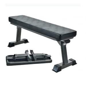 FF Finer Form Gym Quality Foldable Flat Bench