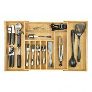 KitchenEdge Silverware Utensil Organizer