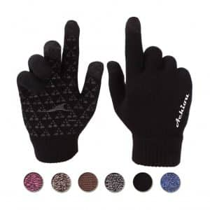 Achiou Winter Touchscreen Knit Gloves 3 Sizes