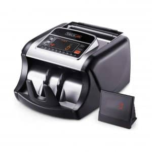 TACKLIFE Money Counter with UV/MG/IR Detection, Bill Counting Machine