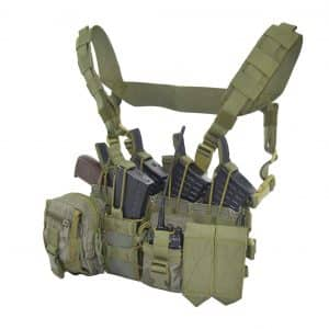 SPOSN/SSO Tactical Molle Chest Rig Wagner D3