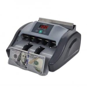 Kolibri Money Counter with UV Counterfeit Bill Detection, Bill Counting Machine