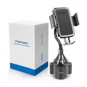 Upgraded TOPGO Cup Holder Phone Mount