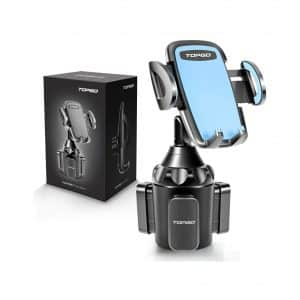 TOPGO Universal Adjustable Cup Holder Cradle Car Mount