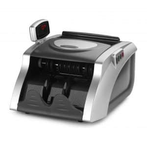 JUNUO Money Counter with UV Magnetic and Infrared Counterfeit Detection