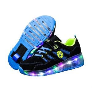 Ufatansy Roller Skate LED Light Shoes with Wheels