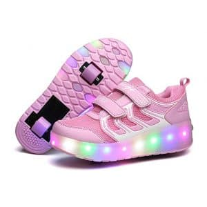 Aikuass LED Light Shoes With Wheels
