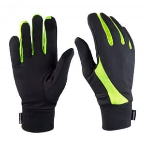 TrailHeads Running Lightweight Touchscreen Finger Gloves