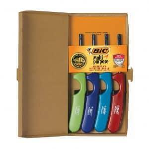 Bic 4-Pack Multipurpose Lighters