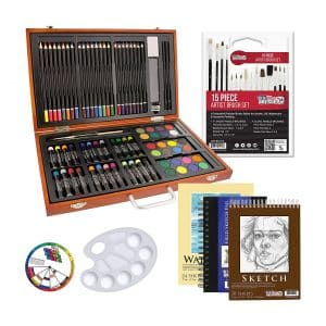 US Art Supply 81-Piece Art Set