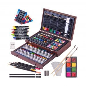 143 Piece Deluxe Art Set