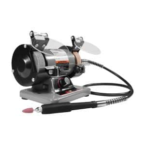 """Performance Tool - 3"""" Portable Bench Grinder"""