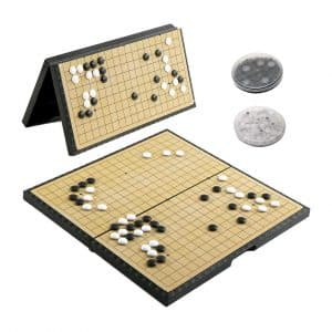 Luoyer Go Game Set Foldable 11inch Go Game Board