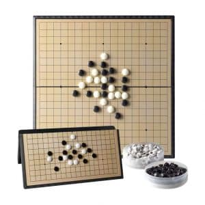 ALANGDUO Magnetic Go Game Set Board