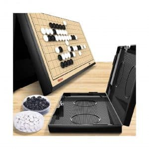 Marbe 11x 11 Inch Magnetic Go Game Board Set