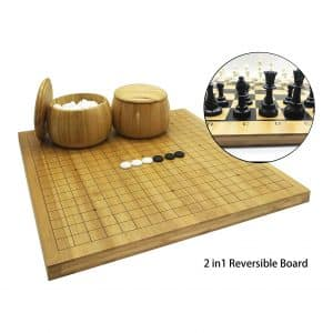 Mose Cafolo 2in1 Go Game Set & Chess Game Set