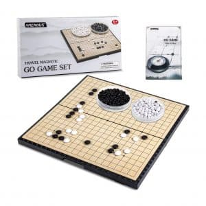 AMEROUS 11 Inches Magnetic Go Game Set
