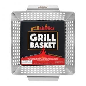 Grillaholics Large Grilling Basket
