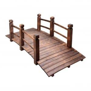 MAXXPRIME 5 feet Wooden Bridge