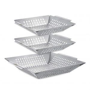 Vencino 3 Pack Grilling Basket