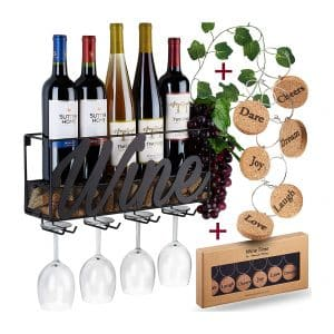 TRIVETRUNNER-ANNA STAY Champagne Wall Mounted Rack