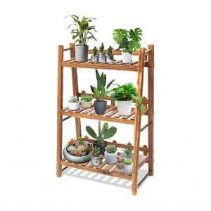 TOOCA Plant Stand Wood