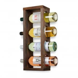 Rustic State Wall Mounted Bottle Holder