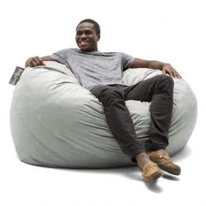 Big Joe Foam Filled Large Fog Bean Bag Chair