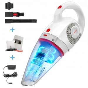 GeeMo 8500PA Wet Dry Handheld Car Vacuum Cleaner