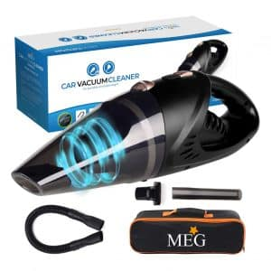 MEG Cordless Powerful Hand Car Vacuum Cleaner