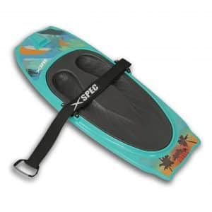 Xspec Waterboarding Kneeboard with Hook Strap for Adults and Teens