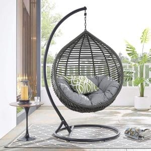 Modway Garner Outdoor Patio Swing Chair