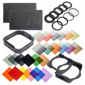 QKOO Camera Lens Filters Kit