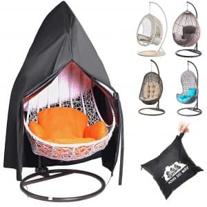 king do way Waterproof Hanging Egg Chair Cover